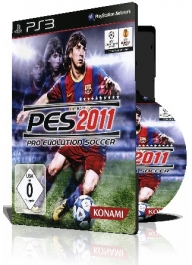 بازی (Pro Evolution Soccer 2011 PS3 (3DVD